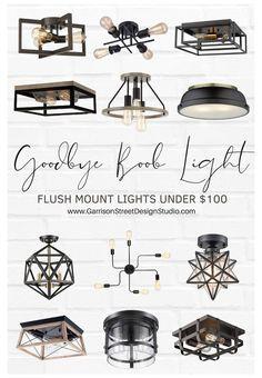 Entryway Light Fixtures, Living Room Light Fixtures, Farmhouse Light Fixtures, Entryway Lighting, Flush Lighting, Kitchen Lighting Fixtures, Outdoor Light Fixtures, Bedroom Lighting, Home Lighting