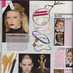 #magazine #cover #mode #accessoirescheveux #headband #serretete #VirginieMahé #hairstyles #bijoudetete #trendy #glamour