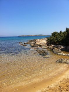 santa maria beach, island of paros, greece