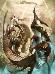 Aditi, Dragon Master by Evan Lee