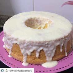 """""""Galera aqui está a receita do Bolo de Fanta!!! Créditos da receita @donadecasaeusou #kpranós #bolodefanta #bolo #fikaadika #dikas #dicas #culinaria…"""""""