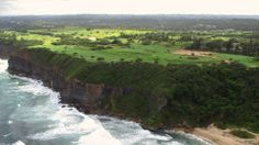 This is Royal Isabela - golf course and resort in Puerto Rico.  It's called the Pebble Beach of the Caribbean.  It's a links golf course.  They kept the natural lay of the land.  It's owned by the Pasarell brothers, Stanley and Charlie.  Charlie played Pancho Gonzales at Wimbledon  in a match that was the longest in Wimbledon history -- until very recently.  He was recently inducted into the tennis Hall of Fame.  This is a phenomenally beautiful place.