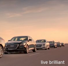 Hyundai : The Empty Car Convoy