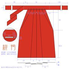Kimonos y otras cosas interesantes.: Caracteristicas de los andon hakama.