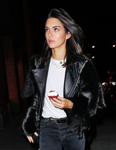 Kendall Jenner Night out in New York