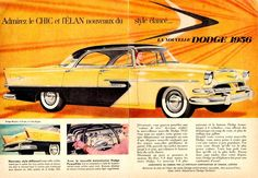 1956 Dodge (of Canada) in French