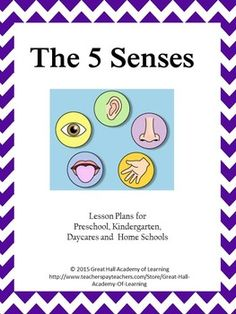New, creative and enriched lesson plans for a week for the theme of The 5 Senses Preschool, kindergarten, daycares and home schools.Circle time: Ideas for group activities, songs, rhymes and information about our five senses.Literature: A list of great age-appropriate books about our sensesSongs: A complete list of songs (with lyrics) about our sensesCrafts: A detailed list of 12 crafts about our senses. .Math: Different  activities including table top, manipulative, counting, adding and…