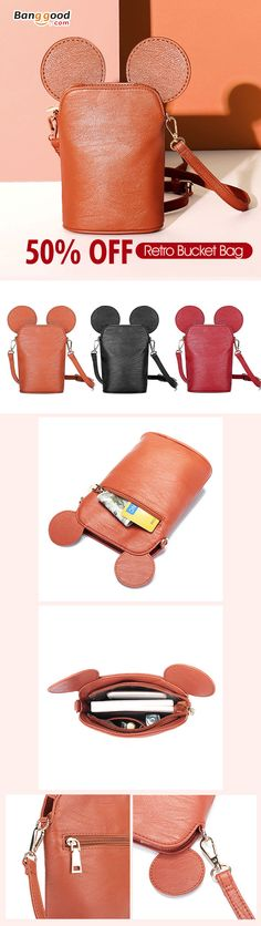 I love those fashionable and beautiful Crossbody Bags from banggood.com. Find the most suitable and comfortable Crossbody Bags at incredibly low prices here.#cute#bags Women's Bags, Purses And Bags, Cross Body Handbags, Luggage Bags, Einstein, Bucket Bag, Crossbody Bags, Cute Animals, Backpacks
