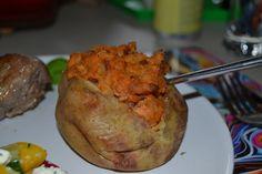 Bacon potatoes Bacon Potato, Turkey, Potatoes, Chicken, Meat, Kitchen, Blog, Recipes, Cooking