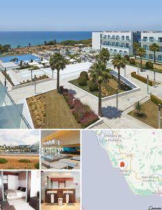 L'hôtel se trouve sur une falaise à 200 m de la plage et à 1 km de Conil de la Frontera où les clients trouveront des magasins, des restaurants et des bars.