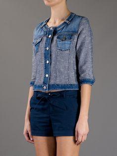 Pinko Sentimento Denim Jacket in Blue (denim) - Lyst