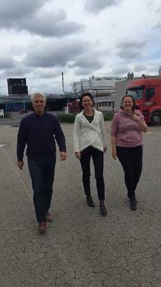 Ebbe, Ulrika and Hanna in Ekokem Nybog Denmark