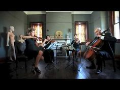 ▶ A Thousand Years - Stringspace String Quartet - YouTube — I want a string quartet at my wedding more than just about anything.