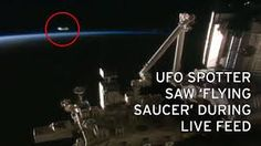 iss space station ufo