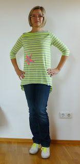 lasari design ✿: Penelope - Die ersten Shirts der Probenäherinnen
