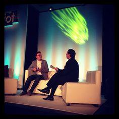 @pauladams from Facebook speaking with @briansolis photo by @valaafshar #pivotcon