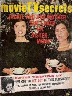 Jackie was quite the newsstand sensation. www.pinkpillbox.com