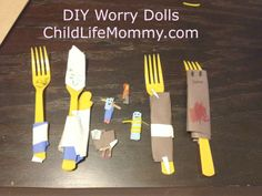 diy worry dolls