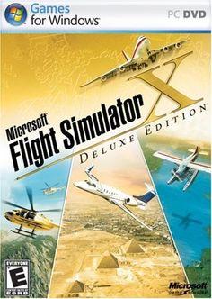 Microsoft Flight Simulator X Deluxe DVD - PC Microsoft