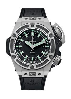 King Power Oceanographic 4000 48mm Diver watch from Hublot