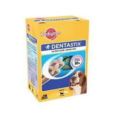 Pedigree Dentastix – Hygiène Bucco Dentaire – Moyen Chien – 1 boîte de 28 Bâtonnets