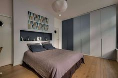 Loft in Paris by Murs et Merveilles Loft Paris, Bedroom, Inspiration, Furniture, Home Decor, Walls, Biblical Inspiration, Bedrooms, Interior Design