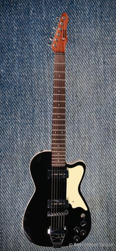 """BootLegger Guitar Black """"Rye Rocker"""""""