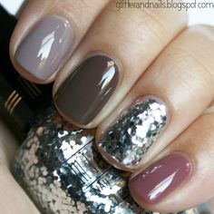 neutrals and glitter