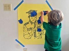 Policeman Theme Birthday Party Ideas for a Pre-schooler | Design Mom