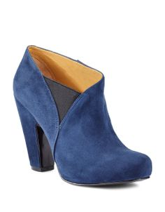 6da93759586 A stylish pair of blue suede boots by Nine West