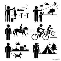 Vektor: Recreational Outdoor Leisure Activities