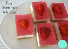 Easy Thermomix Jelly Slice - Thermobliss