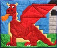 Dragon Quilt Pattern CQ-084