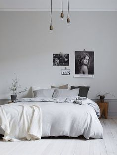 7 Amazing Unique Ideas: Minimalist Home Architecture Black Kitchens minimalist bedroom bohemian home.Minimalist Interior Bathroom Grey minimalist bedroom bohemian home.Minimalist Bedroom Bohemian Home. Stylish Bedroom, Gray Bedroom, Home Decor Bedroom, Modern Bedroom, Bedroom Ideas, Bedroom Simple, Bedroom Designs, Bedroom Plants, Bedroom Loft