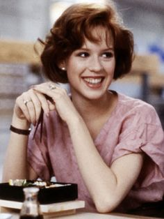 Molly Ringwald! she was my idol growing up..love her movies!