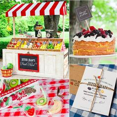 Pin for Later: 120 Kids' Birthday Party Themes to Celebrate Your Child's Big Day A Fruit Stand Birthday Party