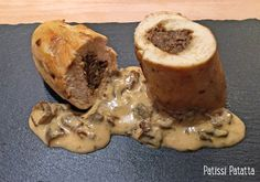 patissi patatta: Ballotines de poulet aux cèpes Fancy Food Presentation, Cooking Recipes, Healthy Recipes, Recipe For 4, Salad Recipes, Catering, Chicken Recipes, Good Food, Food And Drink