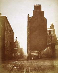 Taken a century after the time that the Earl of Galloway lived there, this photo of Horse Wind gives some idea of it's appearance back in the 18th century. (1871)