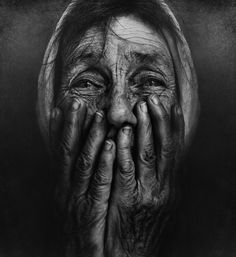 This is stunning... May my face tell a thousand stories of love and passion when I am this old. :)