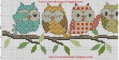 Owls Pattern 1!