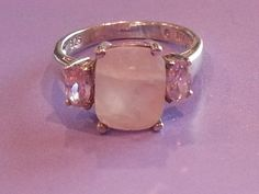 Vintage Sterling Silver Ring 925 Ladies Faceted by MyYiayiaHadThat, $25.00