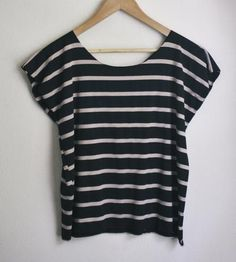 Camel Striped Knit Top by West Oak Design on Scoutmob Shoppe