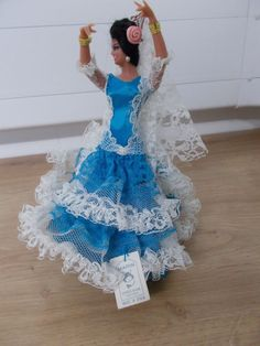 Vintage Marin Chiclana Custodia 642 Spanish Flamenco Dancer Doll | Dolls & Bears, Dolls, Clothing & Accessories, Vintage Dolls | eBay!