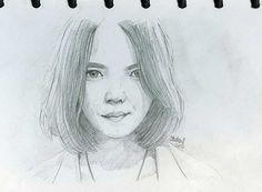 sketch pencil -nadya fatira-