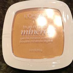 L'Oreal True Match Mineral Powder Nude Beige W3 L'Oreal True Match Mineral Powder Nude Beige W3/406. I bundle! Just ask  L'Oreal Makeup