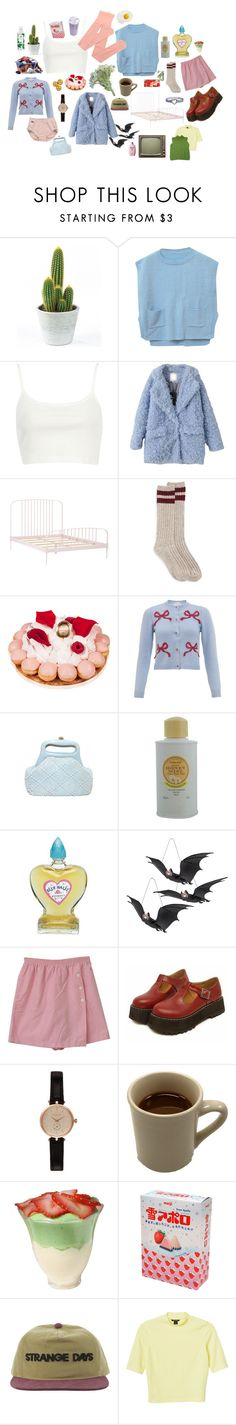 """""""Candy"""" by skeletondance ❤ liked on Polyvore featuring Chicnova Fashion, River Island, Ladurée, VIVETTA, Perlier, Mancienne, Barbour, Monki and Lacoste"""
