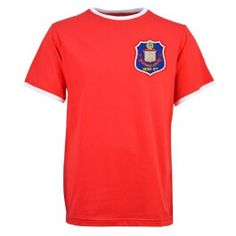 dd1004c22d3 Manchester United 1958 FA Cup Final Retro Football Shirt | Tonight's ...