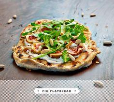 fig & arugula flatbread