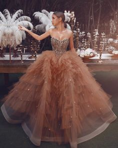 Sadek Majed Haute Couture Source by dresses glamour Most Beautiful Dresses, Elegant Dresses, Pretty Dresses, Stunningly Beautiful, Haute Couture Gowns, Couture Dresses, Fashion Dresses, Couture Fashion, Haute Couture Style