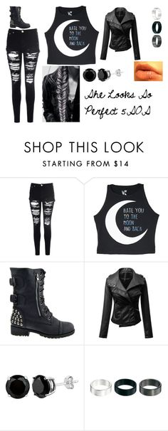 """""""She Looks So Perfect by 5SOS"""" by invisible-girl-736 ❤ liked on Polyvore featuring Glamorous and ASOS"""